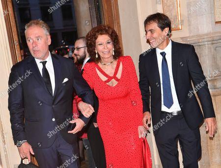 Sophia Loren and Carlo Ponti Jr.
