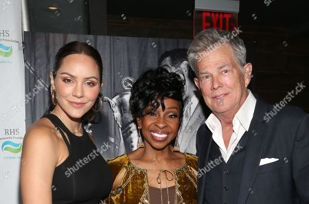 Katharine McPhee, Gladys Knight and David Foster
