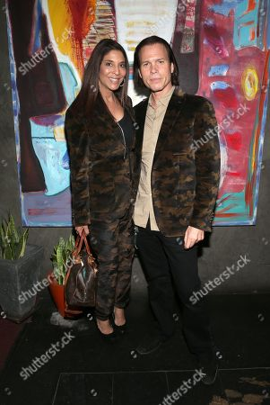 Stock Photo of Christine Devine and Sean McNabb