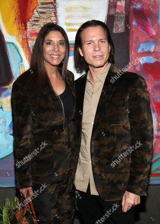 Stock Picture of Christine Devine and Sean McNabb