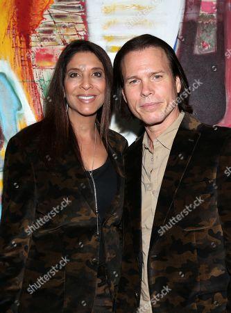 Stock Image of Christine Devine and Sean McNabb