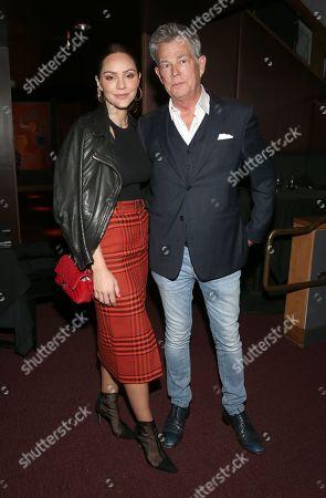 Stock Photo of Katharine McPhee and David Foster