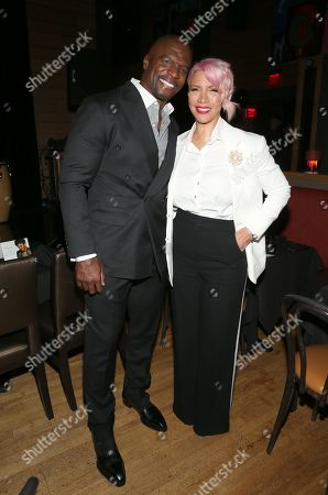Stock Photo of Terry Crews and Rebecca Crews
