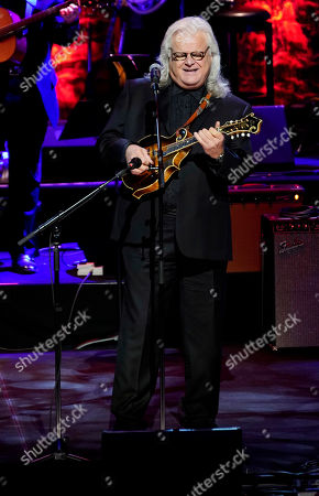 Ricky Skaggs performs during the 2019 Medallion Ceremony at the Country Music Hall of Fame and Museum on in Nashville, Tenn