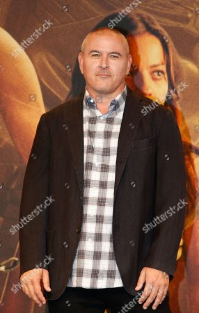 Tim Miller arrives at a media event for the movie 'Terminator: Dark Fate' in Seoul, South Korea, 21 October 2019. The movie will open in South Korea's theaters on 30 October 2019.