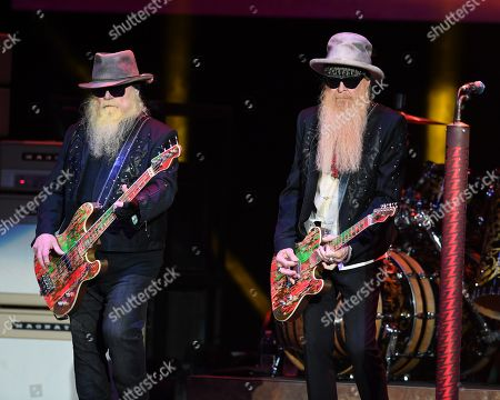Stock Photo of Dusty Hill and Billy Gibbons