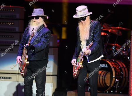 Stock Image of Dusty Hill and Billy Gibbons