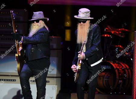 Editorial picture of ZZ Top in concert at the Coral Sky Amphitheatre, West Palm Beach, USA - 20 Oct 2019