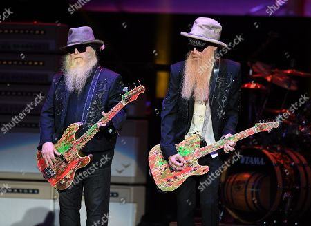 Stock Picture of Dusty Hill and Billy Gibbons