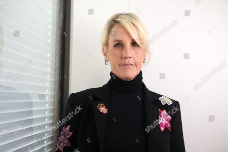 Stock Picture of US legal clerk Erin Brockovich poses for a photo after a press conference at Shine Lawyers in Brisbane, Australia, 21 October 2019. Shine Lawyers have been calling for stricter regulations in the stone industry, after one of their clients died from silicosis, an untreatable lung disease caused by silica dust inhalation. According to media reports, dozens of workers were diagnosed with silicosis in Australia.
