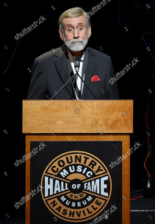 Editorial picture of Country Music Hall of Fame Medallion Ceremony, Show, Nashville, USA - 20 Oct 2019