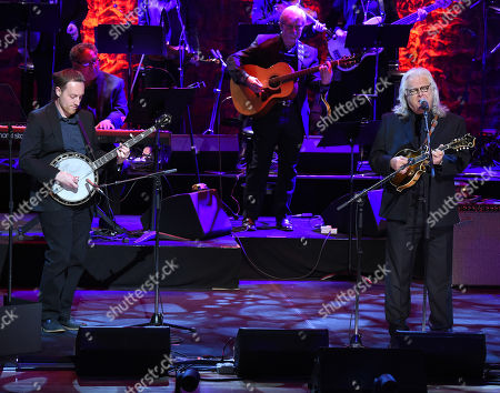 Justin Moses and Ricky Skaggs