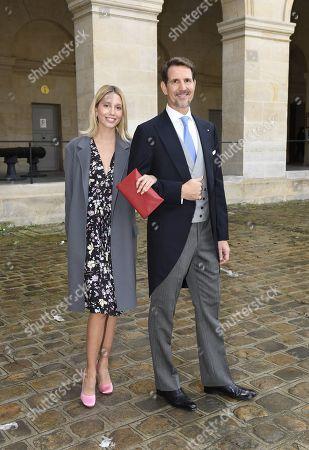 Crown Prince Pavlos von Greece and daughter Princess Olympia