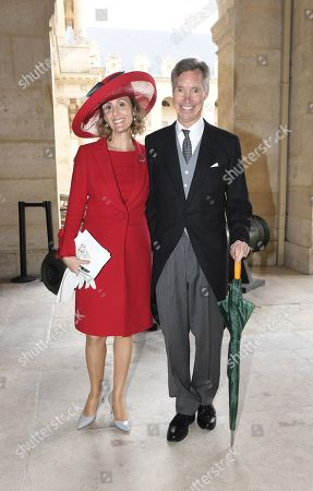 Editorial picture of Wedding of Prince Jean-Christophe Napoleon and Countess Olympia Arco-Zinneberg, Paris, France - 19 Oct 2019