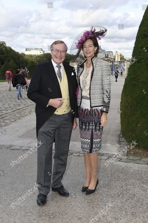 Prince Jean von Luxemburg and wife Princess Diane