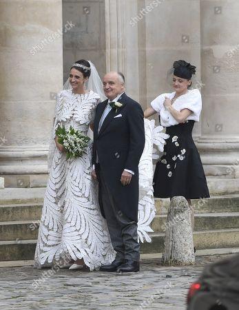 Count Riprand von und zu Arco-Zinneberg and daughter Countess Olympia Arco-Zinneberg