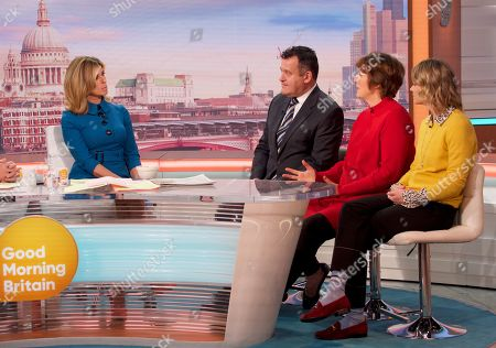 Stock Image of Kate Garraway, Paul Burrell, Sally Jones, Viscountess Julie Montagu