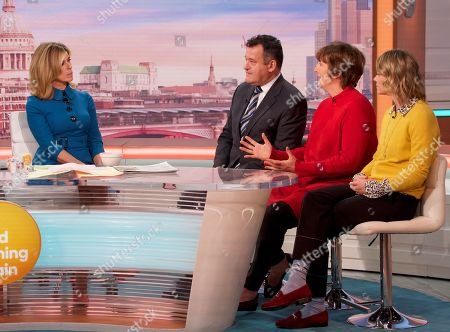 Editorial image of 'Good Morning Britain' TV show, London, UK - 21 Oct 2019