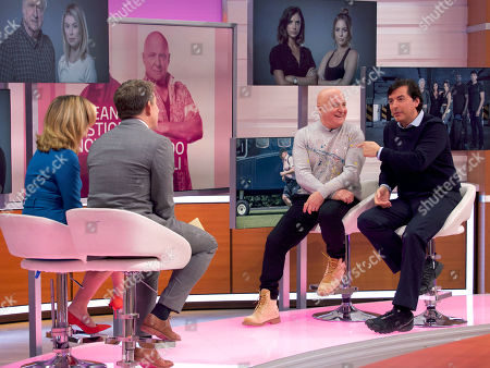 Editorial image of 'Good Morning Britain' TV show, London, UK - 21 Oct 2019