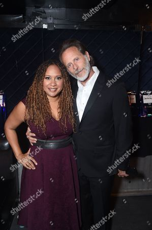 Tracie Thoms and Steven Weber