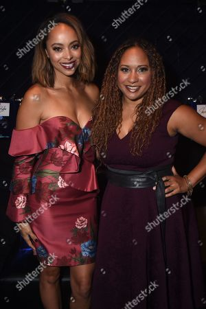 Amber Stevens West and Tracie Thoms