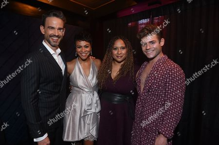 Stock Image of Christopher Gorham, Tracie Thom, Carly Hughes and Garrett Clayton