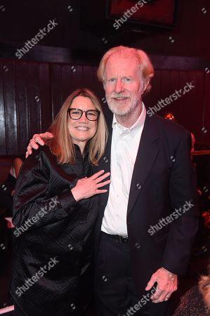 Cindy Harrell-Horn and Ed Begley Jnr.