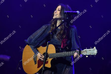 Stock Picture of Jackie Tohn performs