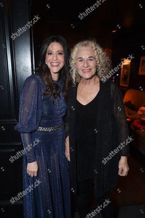 Jackie Tohn and Carole King