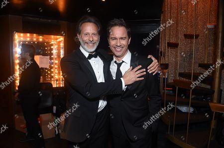 Eric McCormack and Steven Weber