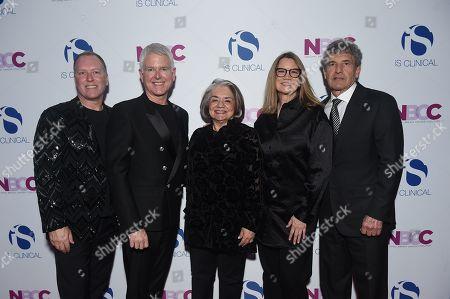 Stock Photo of Bryan Johns, Alec Call, Fran Visco, Cindy Harrell-Horn and Alan Horn