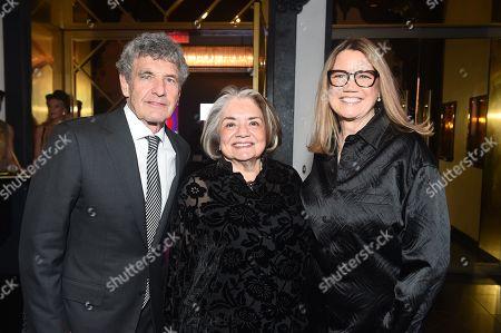 Fran Visco, Cindy Harrell-Horn and Alan Horn