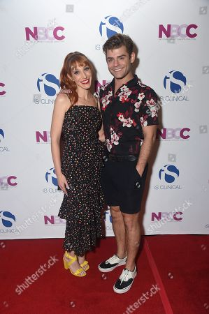 Gwen Hollander and Garrett Clayton