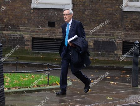 John Redwood MP, at Downing Street