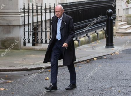 Damian Green arrives at Number 10 in Downing Street