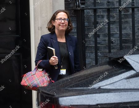 Natalie Evans, Leader of the House of Lords, Lord Privy Seal, leaves Number 10 Downing Street