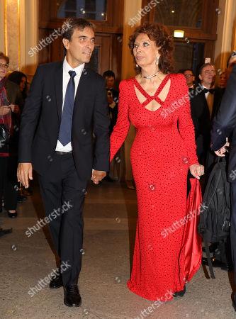 Sophia Loren, Carlo Ponti Jr.