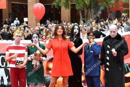 Editorial picture of 'The Addams Family' premiere, 14th Rome Film Festival, Italy - 20 Oct 2019