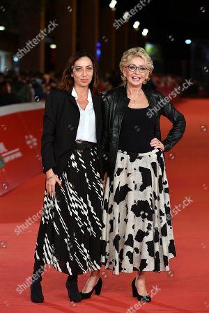 Stock Picture of Enrica Bonaccorti and daughter Verdiana Pettinari