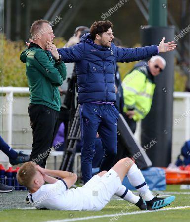 Stock Picture of Ryan Mason Tottenham Hotspur  academy coach