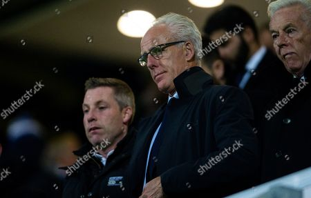 Stock Photo of Mick McCarthy manger of Republic of Ireland and Neil Harris look on