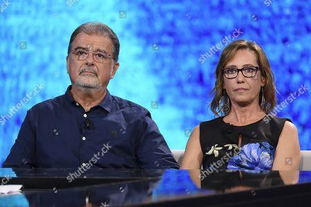 Lawyer Fabio Anselmo, Ilaria Cucchi (sister of Stefano Cucchi)