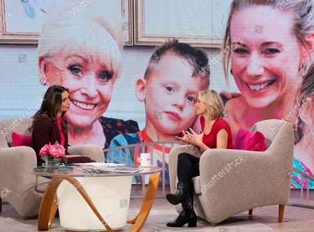 Editorial picture of 'Lorraine' TV show, London, UK - 21 Oct 2019