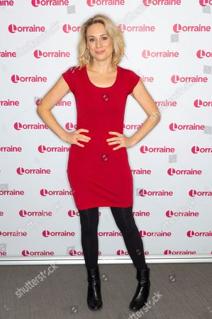 Editorial photo of 'Lorraine' TV show, London, UK - 21 Oct 2019