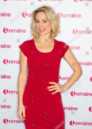 Editorial image of 'Lorraine' TV show, London, UK - 21 Oct 2019