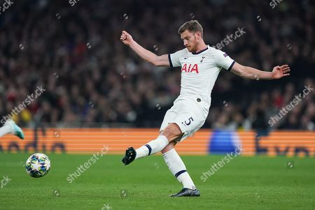 Editorial image of Tottenham Hotspur v Red Star Belgrade, UEFA Champions League, Group B, Football, The Tottenham Hotspur Stadium, London, UK - 22 Oct 2019