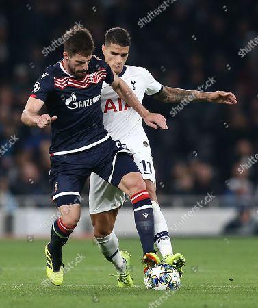Editorial picture of Tottenham Hotspur v Red Star Belgrade, UEFA Champions League, Group B, Football, The Tottenham Hotspur Stadium, London, UK - 22 Oct 2019