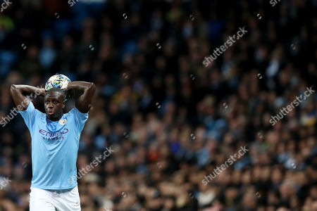 Stock Image of Benjamin Mendy of Manchester City