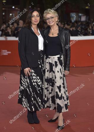 Stock Photo of Enrica Bonaccorti and daughter Verdiana Pettinari
