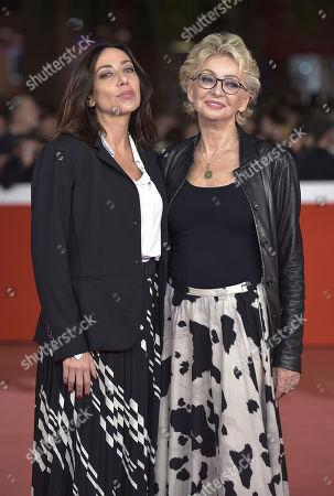 Enrica Bonaccorti and daughter Verdiana Pettinari
